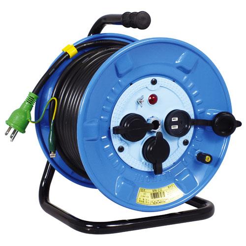 【送料無料】日動工業 防雨・防塵型ドラム 30m NPW-E33