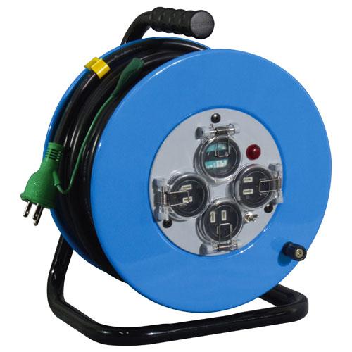 【送料無料】日動工業 防雨型フラットドラムセンサー付 30m XW-EB33-S