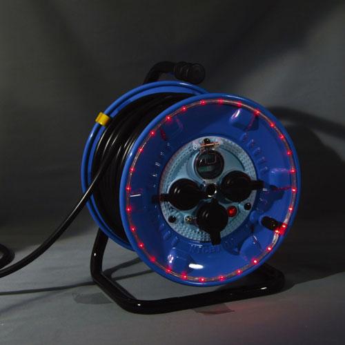 【送料無料】日動工業 防雨型LEDラインドラム赤 NPWL-EB33-R