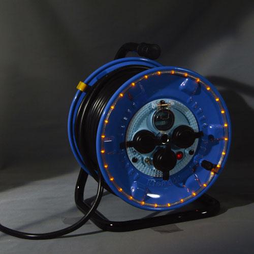 【送料無料】日動工業 防雨型LEDラインドラムオレンジ NPWL-EB33-O