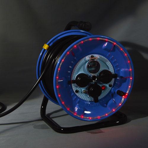 【送料無料】日動工業 防雨型LEDラインドラム赤 NPWL-EK33-R