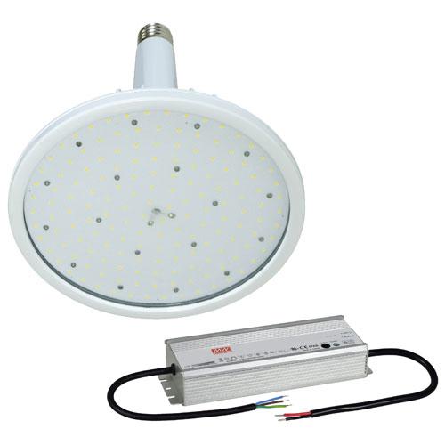 【送料無料】日動工業 ハイディスク150W 電源装置外付型 口金式 昼白色 110度 L150W-E39-HW-50K