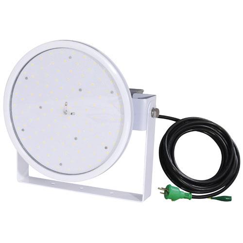 【送料無料】日動工業 ハイディスク100W 電源装置一体型 投光器型 昼白色 110度 L100W-D-HW-50K【smtb-u】
