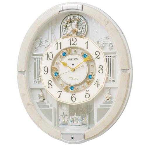 【送料無料】セイコー SEIKO 電波からくり掛時計 RE576A【smtb-u】