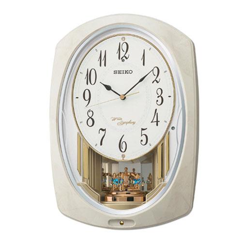 【送料無料】セイコー SEIKO 電波掛時計ウエーブシンフォニー AM261A【smtb-u】