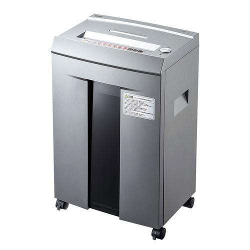 【送料無料】サンワサプライ ペーパー&CDシュレッダー 40分連続・マイクロカット・10枚 PSD-M4010