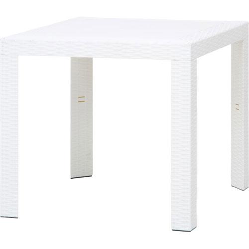 【送料無料】【メーカー直送】不二貿易 ステラ テーブル 80角 ホワイト SATURNO 12517【smtb-u】