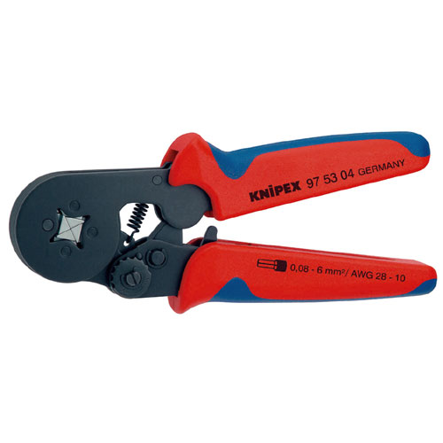 【送料無料】KNIPEX ワイヤーエンドスリーブ圧着ペンチ (SB) 9753-04