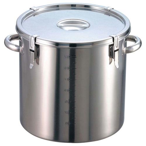 【送料無料】EBM 18-8 パッキン寸胴鍋 目盛付 39cm 手付 8044500