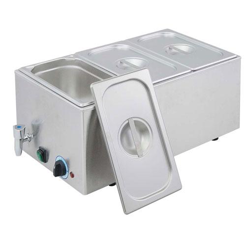 【送料無料】EBM 電気式フードウォーマー 湯煎式 YFK-3(1/3×3) 3790200【smtb-u】