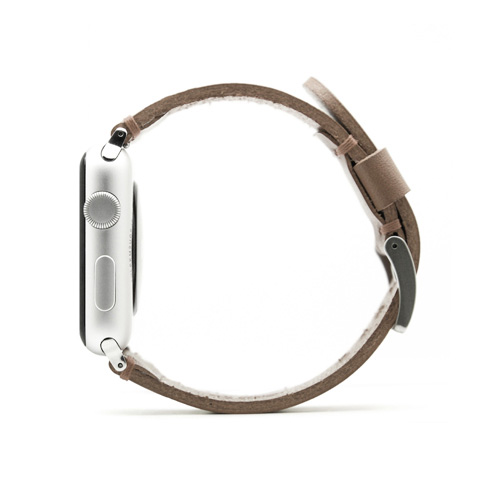 SLG Design エスエルジーデザイン Apple Watch 42mm用バンド ブッテーロレザー ベージュ SD9047AW