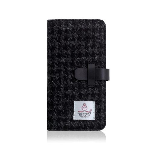 【お試し送料無料】SLG Design エスエルジーデザイン iPhone 6.1/iPhone XR Harris Tweed Diary ブラック SD13714i61【smtb-u】