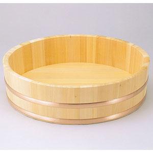 【送料無料】ヤマコー 椹・大半切 銅タガ・底竹補強付 約2.8升 04260