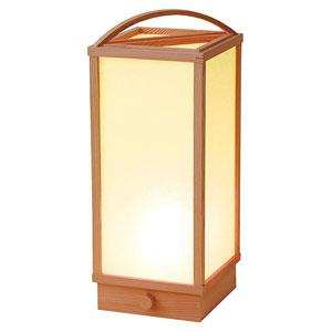 【送料無料】ヤマコー 室内行灯 手付 調光スイッチ付 50680