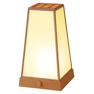 【送料無料】ヤマコー 室内行灯 台形 調光スイッチ付 50682