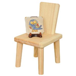【送料無料】ヤマコー ひのき椅子型飾り台 82218【smtb-u】