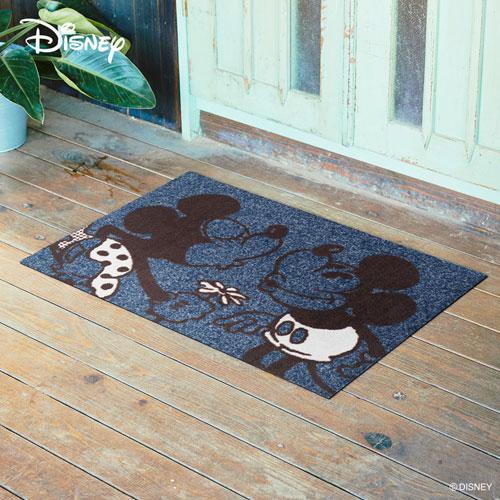 【送料無料】【メーカー直送】クリーンテックス・ジャパン Disney Mat Collection ディズニー 玄関マット Mickey ミッキー&ミニー 60 × 90 cm BK00002【smtb-u】