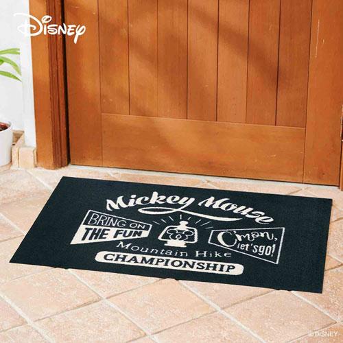 【送料無料】【メーカー直送】クリーンテックス・ジャパン Disney Mat Collection ディズニー 玄関マット Mickey ミッキーマウンテンハイク 60 × 90 cm BK00023【smtb-u】