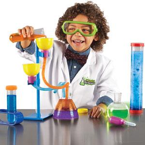 【送料無料】Learning Resources Primary Science Delux Lab Set 初めての実験セット デラックス LER 0826