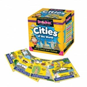 5980円 税込 以上で送料無料 追加で何個買っても同梱0円 Green Board Games 再入荷/予約販売! BrainBox 優先配送 90044 Cities ブレインボックス World 世界の大都市編 of the