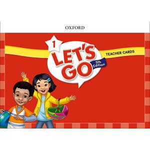 【送料無料】Oxford University Press Let's Go 5th Edition Level 1 Teacher Cards