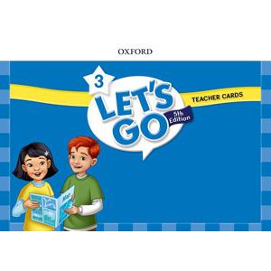 【送料無料】Oxford University Press Let's Go 5th Edition Level 3 Teacher Cards
