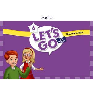 【送料無料】Oxford University Press Let's Go 5th Edition Level 6 Teacher Cards