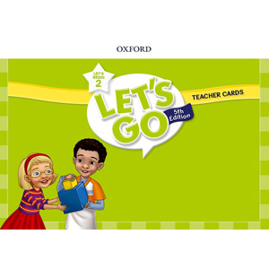 【送料無料】Oxford University Press Let's Go 5th Edition Let's Begin 2 Teacher Cards