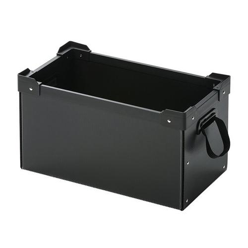 【送料無料】サンワサプライ プラダン製マルチ収納ケース ブラック PD-BOX2BK