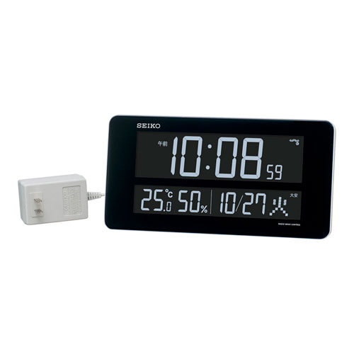 【送料無料】セイコー SEIKO 交流式電波時計 DL208W ZTK6201
