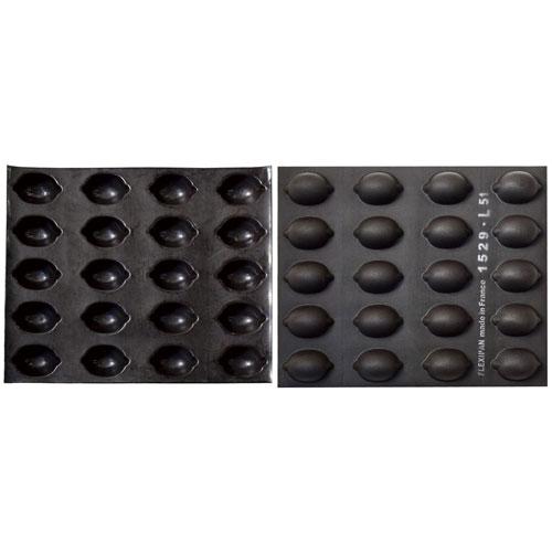 【送料無料】ドゥマール フレキシパン 20取 レモン型 REF1529 WHL7601