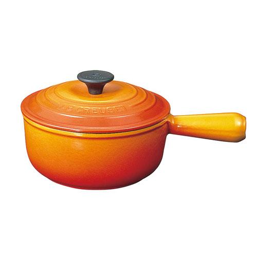 【送料無料】ル・クルーゼ ソースパン 18cm オレンジ 2507-18-09 7595210【smtb-u】