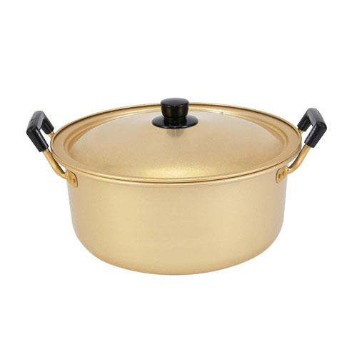 【送料無料】アルマイト しゅう酸実用鍋 40cm 5066501