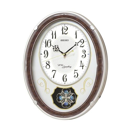 【送料無料】【メーカー直送】セイコー SEIKO 電波掛時計 ウェーブシンフォニー AM259B