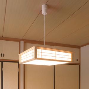 【送料無料】オーム電機 LED和風ペンダントライト 調光 8畳用 電球色 LT-W30L8K-K