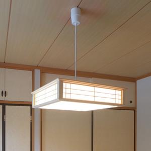 【送料無料】オーム電機 LED和風ペンダントライト 調光 8畳用 昼光色 LT-W30D8K-K