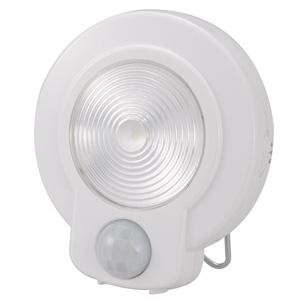 5980円 税込 以上で送料無料 追加で何個買っても同梱0円 ラッピング無料 オーム電機 おしゃれ 白色LED 本体ホワイト NIT-L03M-W LEDセンサーライト