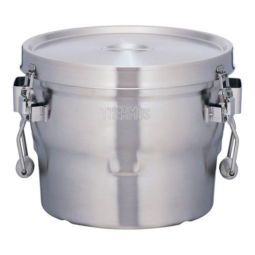 【送料無料】サーモス THERMOS 18-8 高性能保温食缶 シャトルドラム GBB-10CP AKU0301