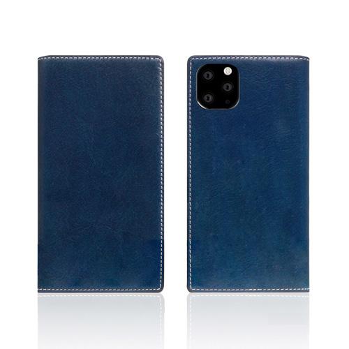 【通販 人気】 【送料無料】SLG Design iPhone 11 Pro 背面カバー型 Tamponata Leather case ブルー SD17857i58R, 国富自然卵普及会 cf8698dc
