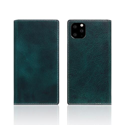 【送料無料】SLG Design iPhone 11 Pro 背面カバー型 Badalassi Wax case グリーン SD17861i58R