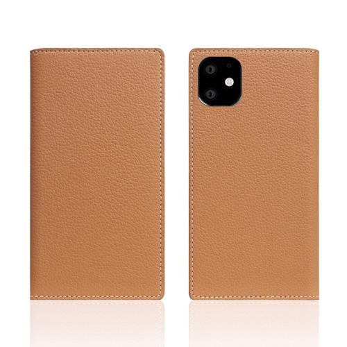 【送料無料】SLG Design iPhone 11 背面カバー型 Full Grain Leather Case キャラメルクリーム SD17911i61R▽▼
