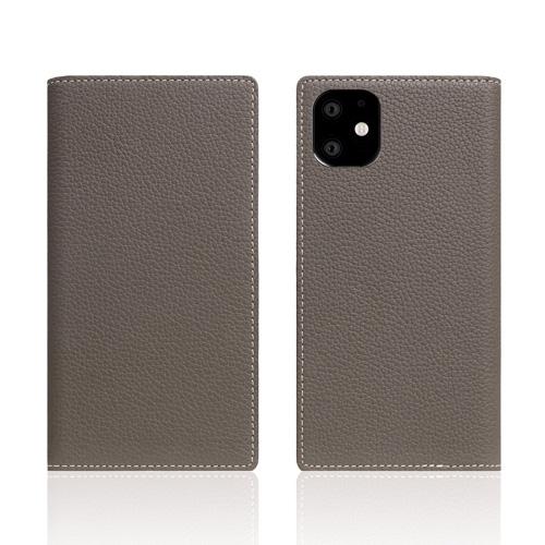 【送料無料】SLG Design iPhone 11 背面カバー型 Full Grain Leather Case エトフクリーム SD17912i61R▽▼