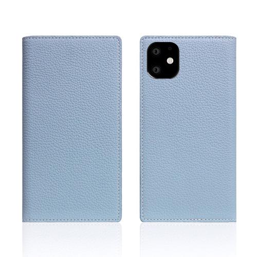 【高い素材】 【送料無料】SLG Design iPhone 11 背面カバー型 Full Grain Leather Case パウダーブルー SD17916i61R, 大分市 f75e6cae