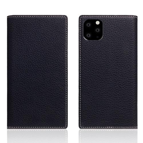 【送料無料】SLG Design iPhone 11 Pro Max 背面カバー型 Full Grain Leather Case ブラックブルー SD17959i65R▽▼