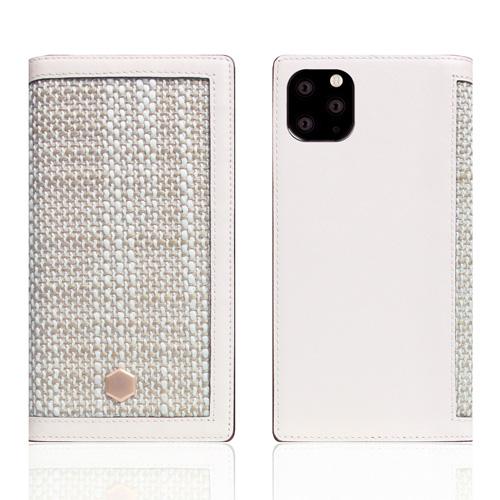 【送料無料】SLG Design iPhone 11 Pro Max 背面カバー型 Edition Calf Skin Leather Diary ホワイト SD17969i65R▽▼