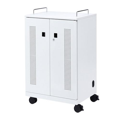 【送料無料】【メーカー直送】サンワサプライ タブレット収納キャビネット 40台収納 CAI-CAB102W