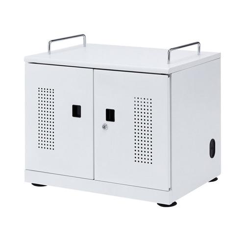 【送料無料】【メーカー直送】サンワサプライ タブレット収納キャビネット 20台収納 CAI-CAB103W