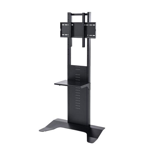 【送料無料】【メーカー直送】サンワサプライ 32~65インチ対応 壁寄せ液晶ディスプレイスタンド CR-PL33BK