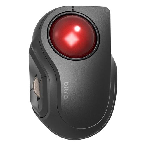 送料無料 追加で何個買っても同梱0円 エレコム ELECOM トラックボールマウス ワイヤレス Bluetooth iPhone 5ボタン iPad 即納 専用ケース�き コンパクト 超安い M-MT2BRSBK 静音 対応