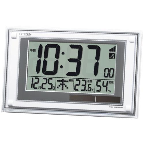 【送料無料】シチズン ソーラーパワーアシスト式電波掛置兼用時計 8RZ189-003